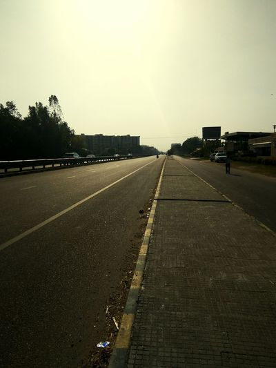Roadsidephotography Roadscenes Empty Road No Vehicles Sunlight ☀ Summer Memories... Footpath Heat Speed