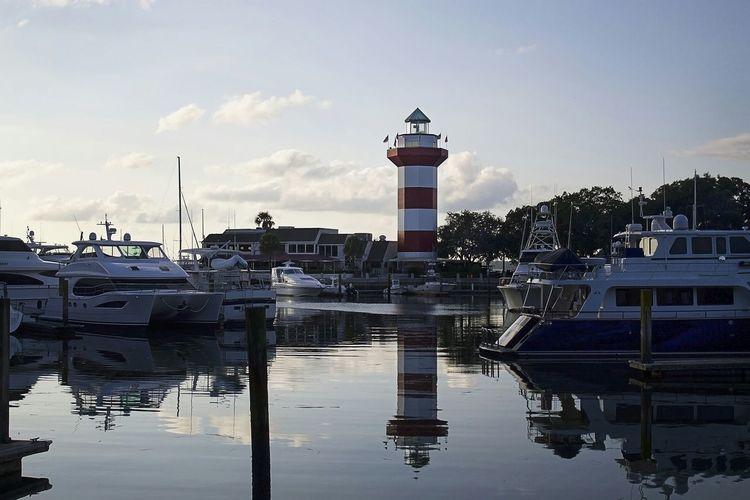 Hilton Head Island Lighthouse Harbour Town