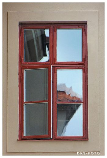 Sweden The True Story Eskilstuna-streetphotography Frame Window Damaged House Architecture Building Exterior Close-up Built Structure