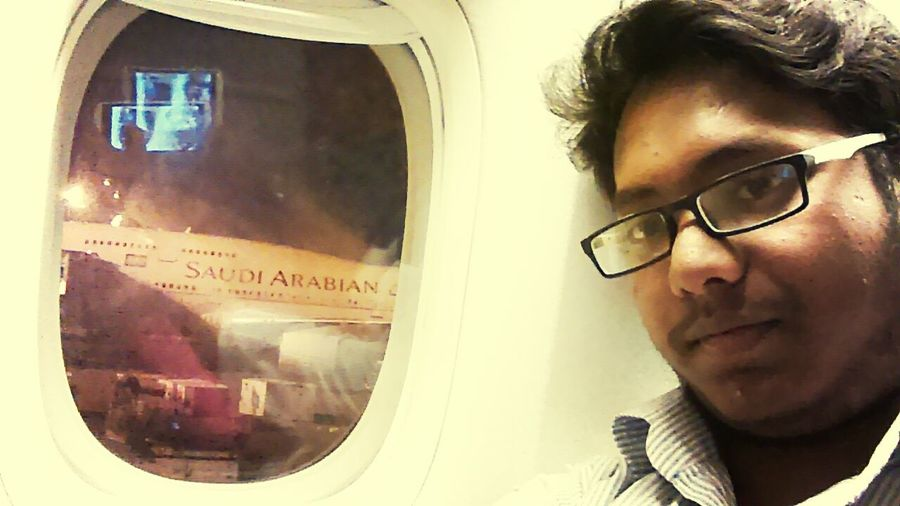 Going To An Exotic Place Vacation Time Boeing 777 Selfie ♥