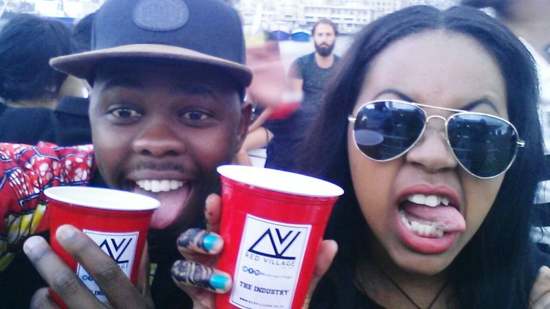 RedCupVillage Enjoying Life With My Mate Freindship Yacht Party Gloomy Weather Funday Capetownliving