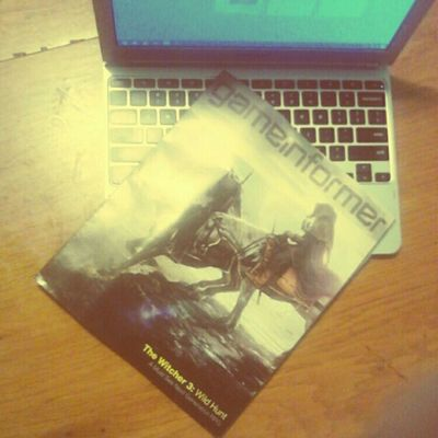 Sean and I got our #march issue of #gameinformer #magazine. Yay! Wtfgo Gamingcouple Gaming Magazine Gadgets UltraBook Gamers Gamer Videogames March Device Videogame  Wtfgamersonly Thewitcher Gameinformermagazine Gameinformer