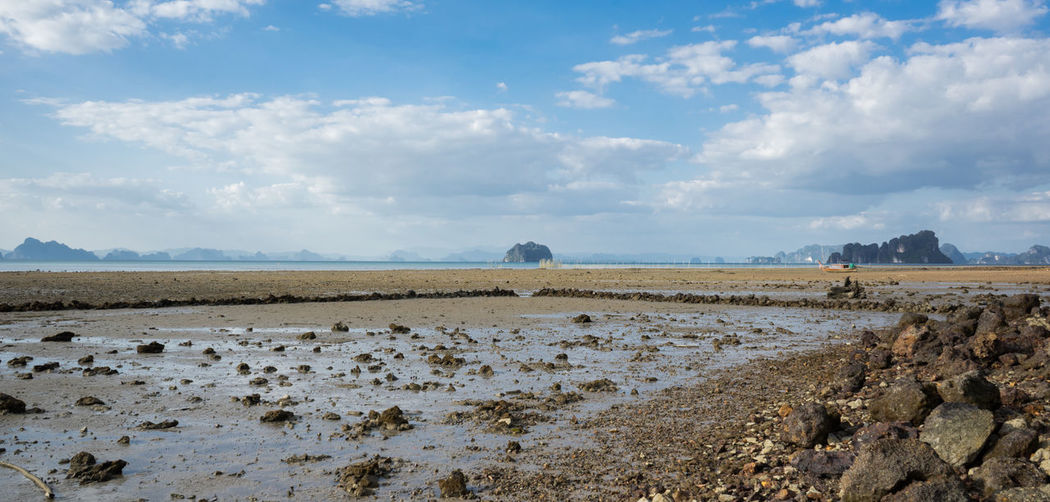 Arid Climate Beauty In Nature Cloud - Sky Day Iland Ko Yao Noi Landscape Mammal Nature No People Outdoors Scenics Sky Thailand Tranquil Scene Tranquility Travel