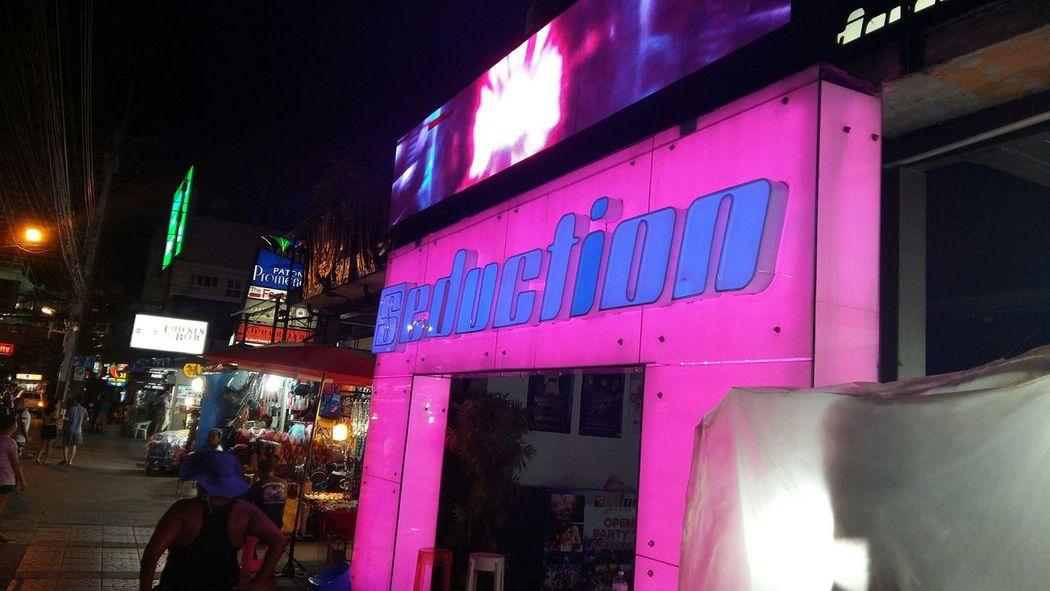 Seduction Nightlife Bangla Road Patong Beach Phuket,Thailand