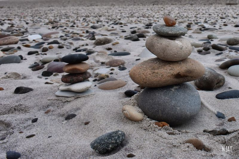 Stones Stacked Stacked Stones Cairn Cairns Beach Sand Pebbles Pebble Zen-like Close-up Pebble Beach Sea Northsea Denmark Denmark 🇩🇰 Nature EyeEm Nature Lover EyeEm Masterclass Nature_collection Two Two Is Better Than One Beauty In Nature Pebbles And Stones Steine