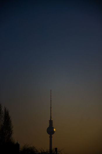 Fernsehturm At Dusk