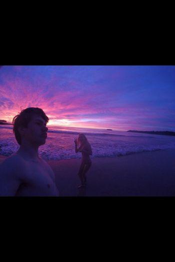 Gopro Sunrise winter✌️ Bestie  bikini? kookie cunts go for 6:30 Swims