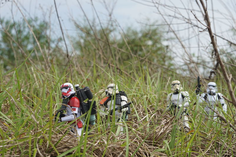 Squad Patrol Sandtrooper Shocktrooper Star Wars Star Wars The Black Series Stormtrooper The Black Series Toy Photography
