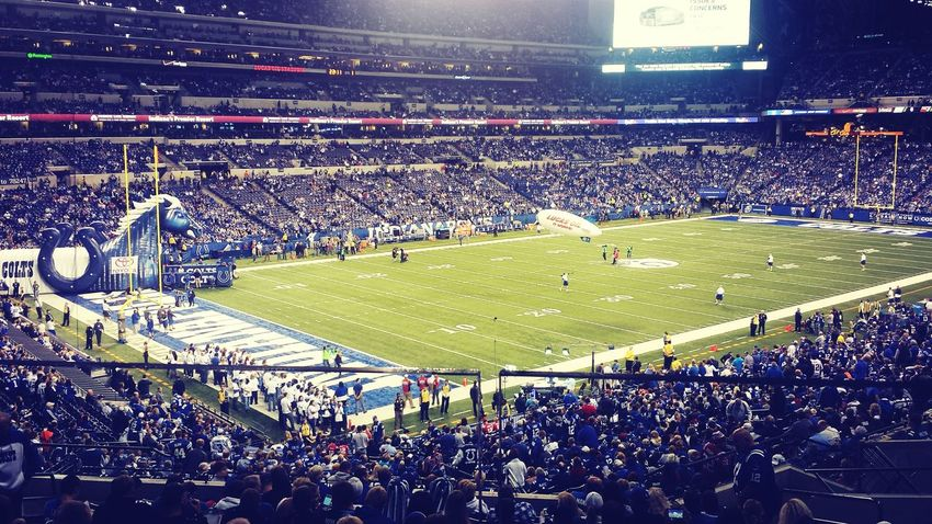 My view of the Colts game last night ? Football Indianapolis Colts Colts Strong Check This Out