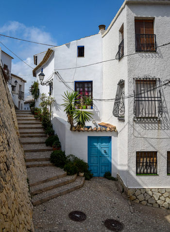 Altea Spaña EyeEm Selects EyeEmNewHere Arquitecturas EyeEm Gallery Eye4photography  Photography #ignafotos Residential Building Sky Architecture Building Exterior Built Structure Plant Spiral Staircase