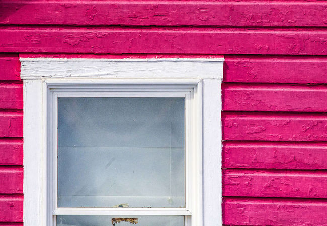 Framing the window Wood Beams Architecture Backgrounds Building Building Exterior Built Structure Door Glass - Material House No People Pink Wood Red Residential District Wall - Building Feature Window Window Frame Window Frame On Old House Wood - Material Wood Slats
