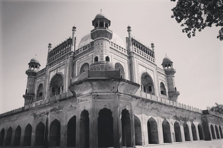 SAFDARJUNG TOMB Architecture Travel Destinations Built Structure Low Angle View Arch History Building Exterior Architectural Column Outdoors Architecturelovershots Architectural Detail Eye4photography  EyeEm Gallery Streetphotographyindia Streetphoto Architecture Art Is Everywhere Blackandwhite Blackandwhite Photography Bnw_collection Bnw_magazine Bnw_planet Streetphoto_bw Street Photographer EyeEm Best Shots