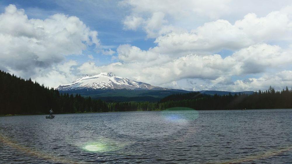 Mt. Hood  Trillium Lake Oregon Awesome Beautiful Relaxing Enjoying Life Fresh Air Check This Out