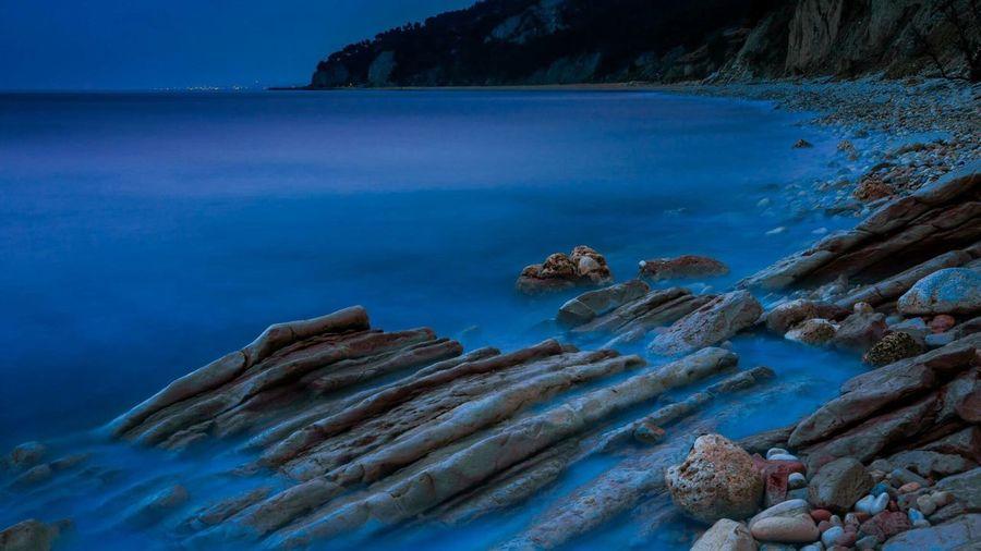 Nature Water Sea Blue Tranquil Scene Scenics Beauty In Nature Tranquility Nature Seascape Non-urban Scene Sky Calm Coastline