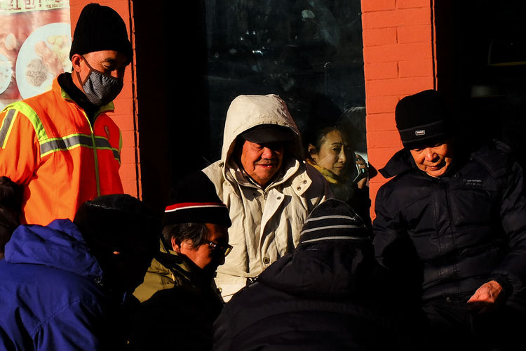 Afternoon China Close-up Color Dalian Eyeem Philippines Knit Hat People Protective Mask - Workwear Street Photography Streetphotography Warm Clothing Winter
