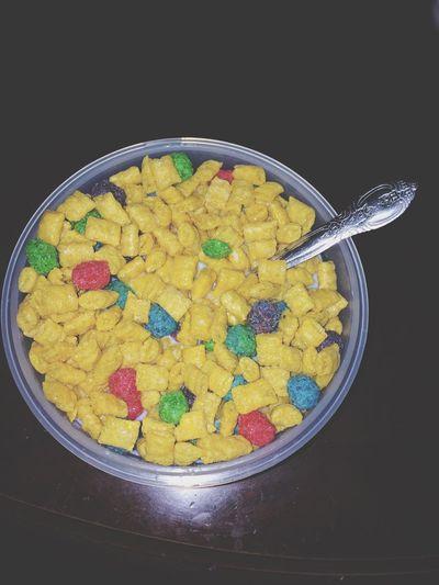 GoodMorning BreakFast ???? Breakfast Cereal Crunch Berries