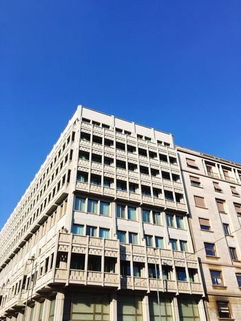 Architecture Built Structure Building Exterior Clear Sky Day Outdoors No People City Milano