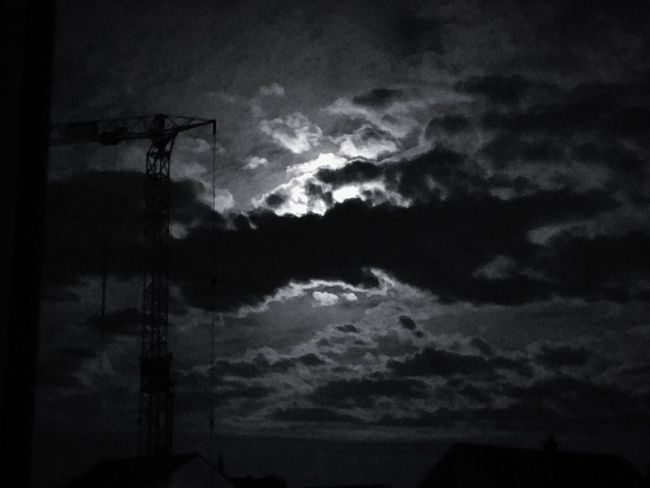 Cloud - Sky Sky Moon Moonlight Moon And Clouds