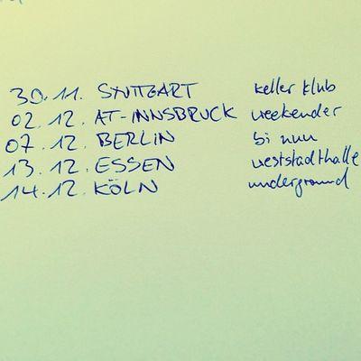 Thefogjoggers Live Ontour Germany austria