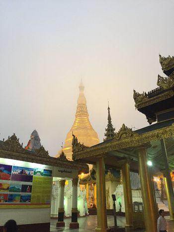 Iphonephotography Myanmar Shwedagon Pagoda Burma Peaceful Golden Good Morning