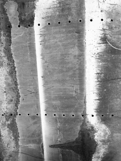 Sheet metal texture study Sheet Metal Sheetmetal Textures And Surfaces Texture Textured  Texture And Surfaces Metal Textures Aluminium Distressed Distressed Metal Screensaver Wallpaper Stock Texture Patina Patina_perfection Used Metal Pattern Weathered Blackandwhite Photography Black & White Blackandwhite Black And White Composition Scratched HolePunch
