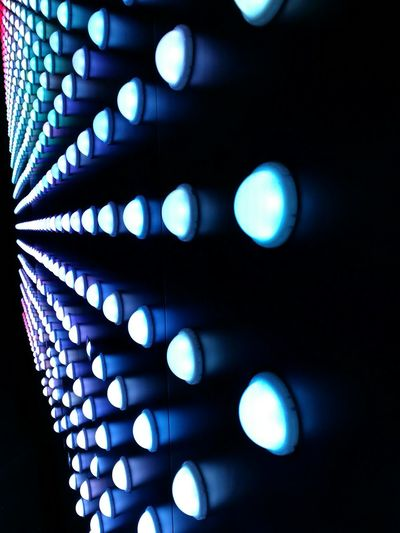 Illuminated Defocused Perspectives And Dimensions Order Blueblue Abstract Technology Black Background Data Cyberspace No People Futuristic Telecommunications Equipment Backgrounds Pixelated Close-up Eyesight Network Server