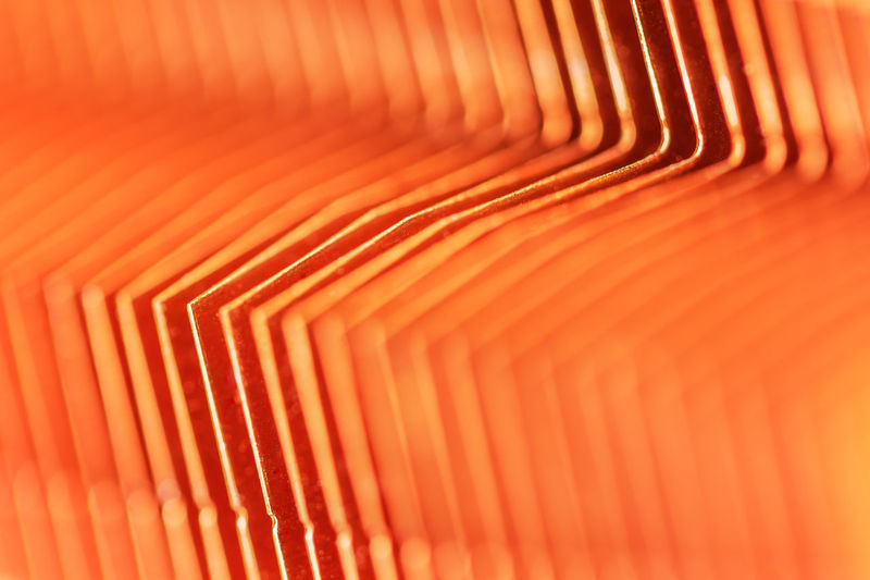 Cooling Fins Abstract Abstract Backgrounds Backgrounds Close-up Computer Copper  Creativity Design Full Frame In A Row Industry No People Orange Color Pattern Striped Technology Textured  Textured Effect Variation