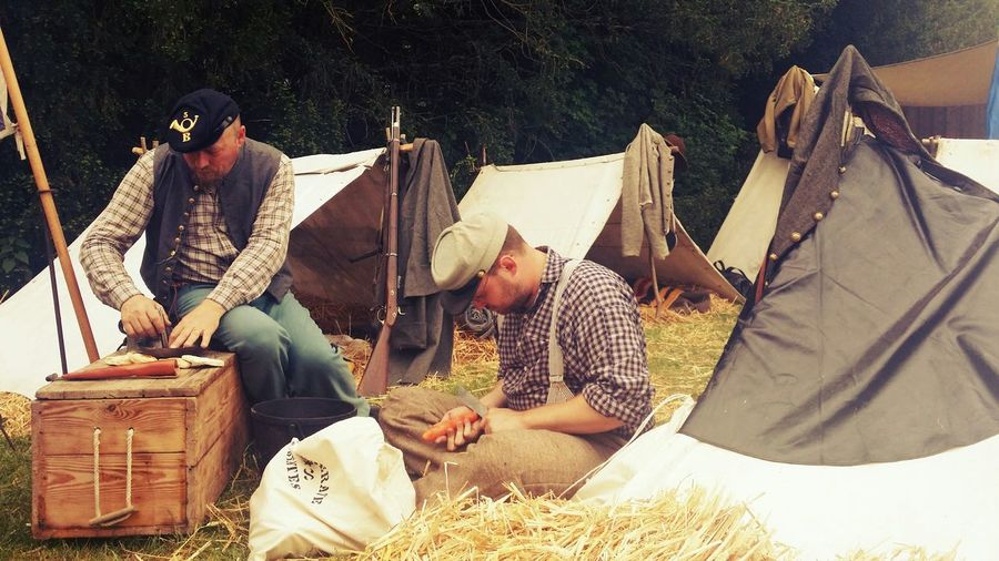 Historical Reconstitution Sully Sur Loire History People Historic Tents Civil War Civil War History Southerners Camp