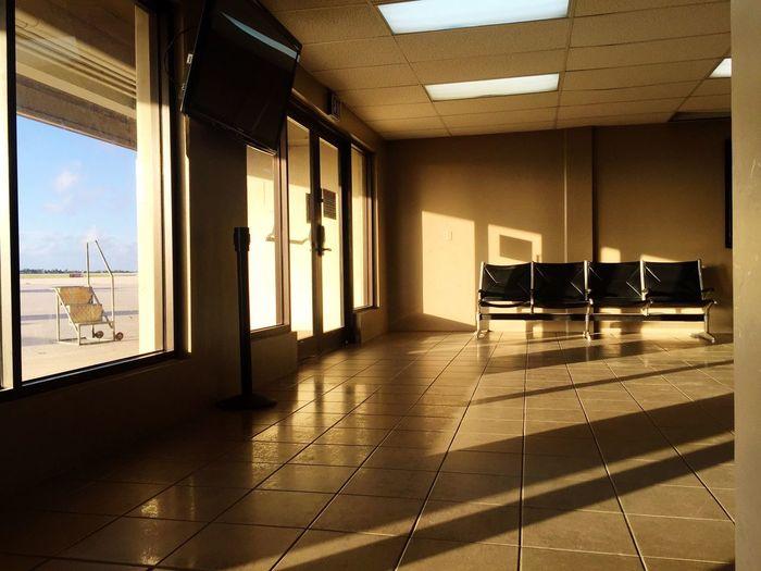 Empty corridor of home