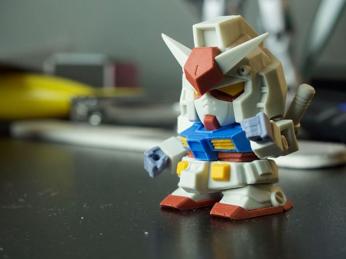 Close-up Gundam