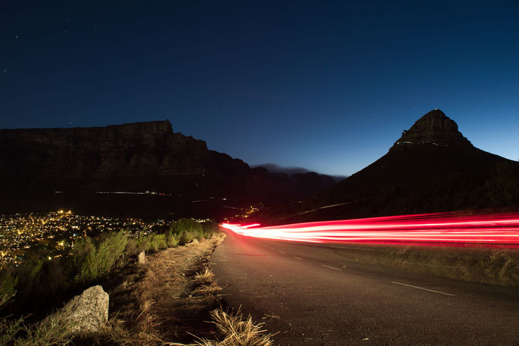 The Week on EyeEm Beauty In Nature Car Trails Clear Sky Illuminated Light Trail Lionshead Long Exposure Motion Motion Capture Mountain Mountains Nature Night No People Outdoors Road Sky Speed Star - Space Transportation