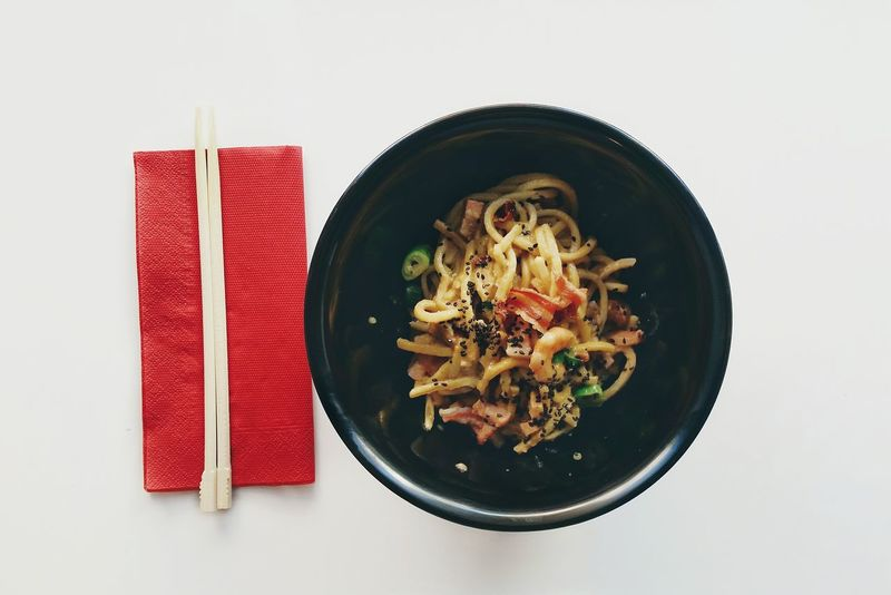 Crunchy Noodles Food Food Photography Chopsticks Eating Out Nom Nom Nom Delicious Yummy