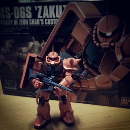 Finish!! Second Gunpla Gundam Zaku Gunpla Zeon Char Ms -06S