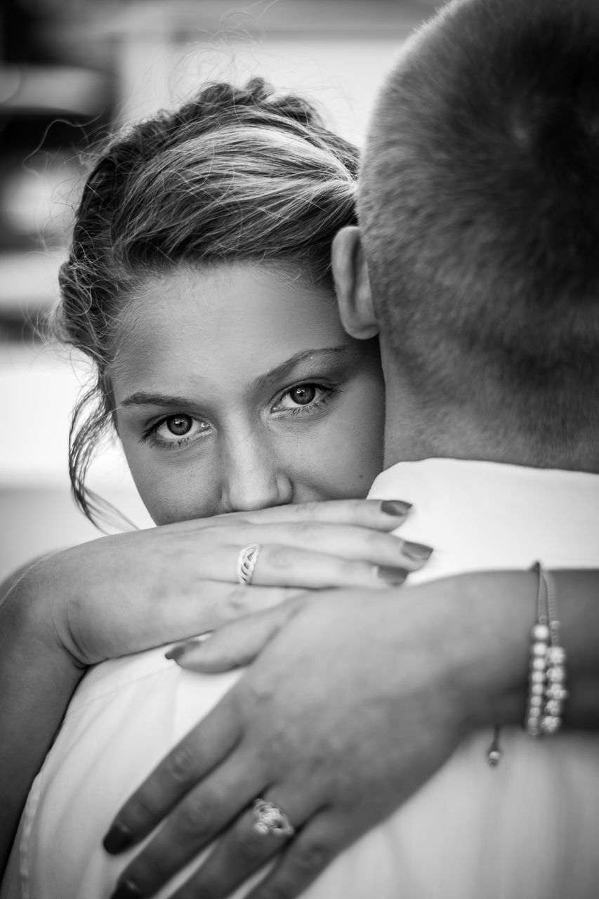 two people, real people, love, togetherness, lifestyles, bonding, young women, human hand, couple - relationship, young adult, young men, men, headshot, day, close-up, indoors