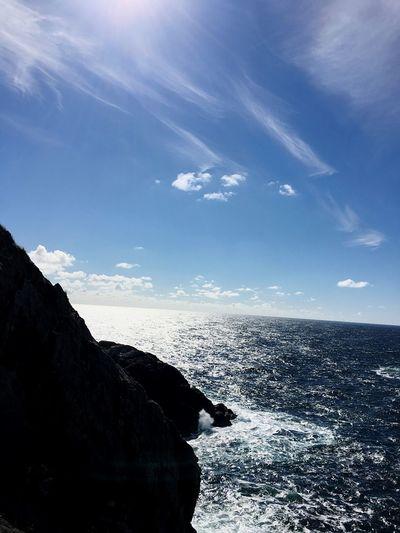 Ocean Sea Horizon Over Water Water Sky Nature Beauty In Nature Scenics