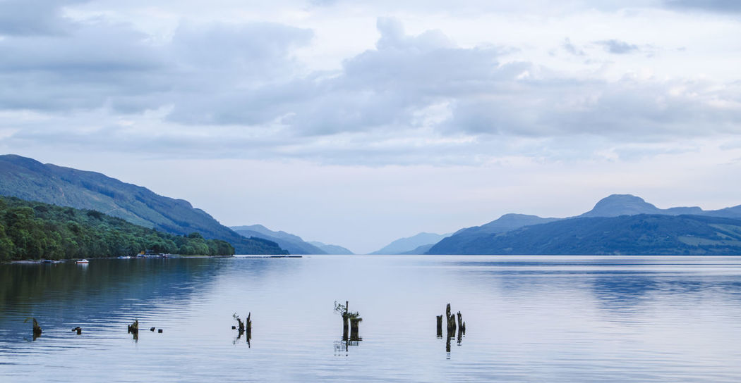Where are you, Nessy? Beauty In Nature Cloud - Sky Day Highlands Lake Landscape Loch  Loch Ness Monster Mountain Nature Nautical Vessel Nessy No People Outdoors Pedal Boat Scenics Scotland Scottish Highlands Sightseeing Tranquil Scene Tranquility Travel Destinations Water Whisky