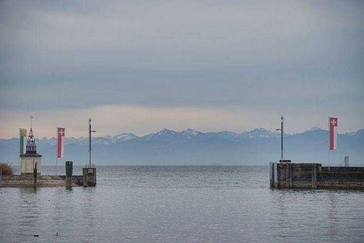 Beauty In Nature Bodensee Bodenseeregion Lake Lake Constance Mountain Mountain Range Nature No People Romanshorn Scenics Sky Thurgau Water Waterfront
