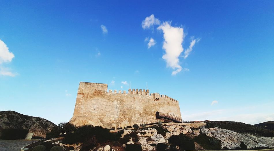 castle with blue sky