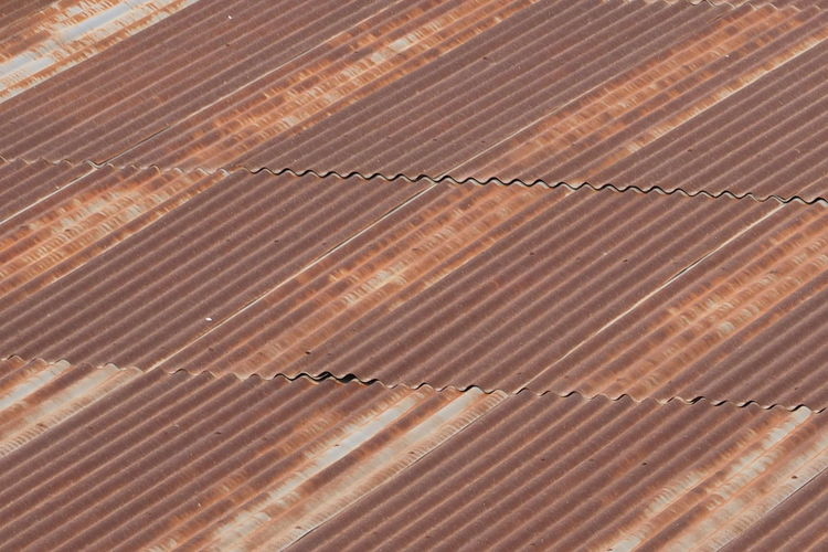 Pattern Rust Backgrounds Brown Close-up Corrugated Iron Day Full Frame Metal No People Old Outdoors Pattern Roof Rusty Textured