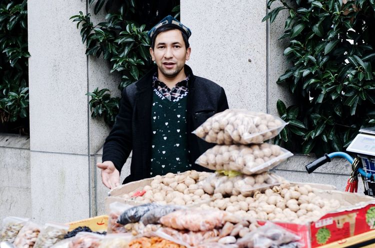 Shanghai, China People Life Seller