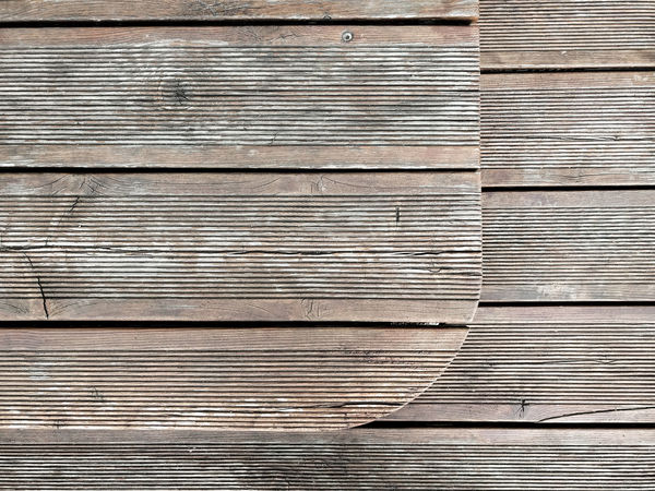 Backgrounds Boards Close-up Day Deck Elevations Full Frame Layers Lines No People Outdoors Patio Pattern Planks Rounded Textured  Wood