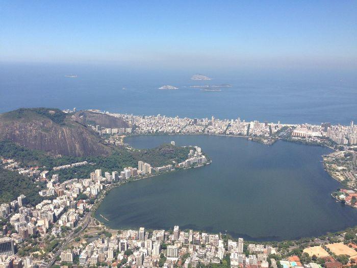 Rio De Janeiro Eyeem Fotos Collection⛵ Beauty In Nature Day High Angle View Mountain Scenics Sea Water