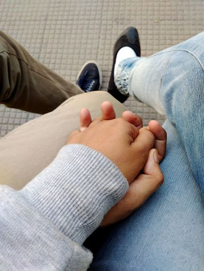 """""""Hold my hand """" Love Holding Hands Holdmyhand Hands Togetherness Companionship Caring Healthy Lifestyle EyeEm Selects Human Body Part Human Foot Healthcare And Medicine Human Leg Human Hand People Close-up Two People Adult Day EyeEmNewHere"""