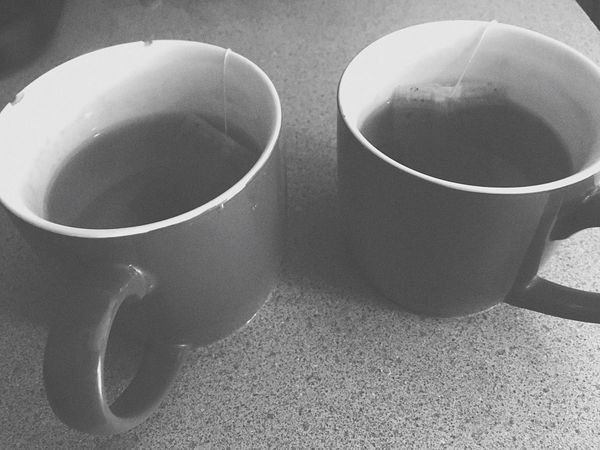 Morning Tea. Drink Tea Caffeine Cup Cups Tea Bags Tea Bag Tag Tea Bag Moring Tea Day Black And White Photography Black And White Portrait Blackandwhite Warm Hot Cozy Place Cozy Moments Cozy Cozytime Relaxing