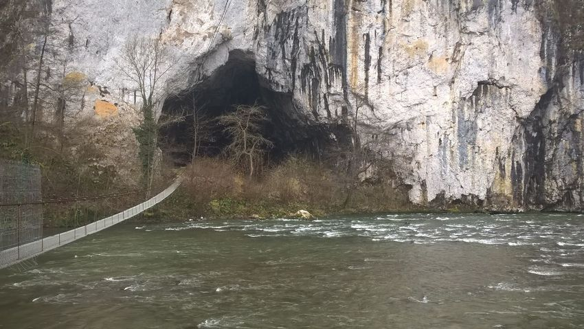 Big Hungaryan Cave Architecture Beauty In Nature Built Structure Day Nature No People Outdoors Tree Water