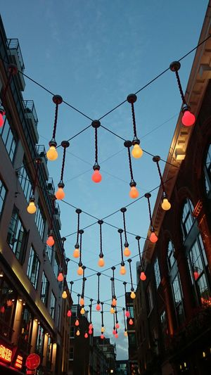 Lights Street Photography Lights At Dusk Carnaby Street