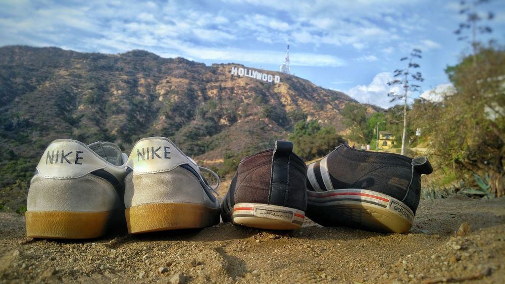 Pair Shoe No People EyeEm Best Shots Traveling Travelphotography Travel Photography My Year My View Summer ☀ USA L.A. Los Angeles, California Hollywood Sign Hollywood Hollywood Hills Hollywoodsign Hollywood, California