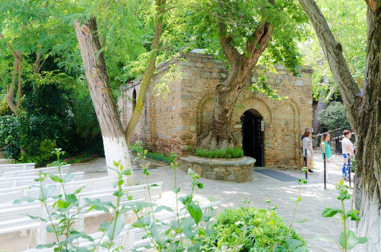 Architecture Christianity Ephesus Ephesus - Turkey Holy Sites House Of The Virgin Mary ImmaculateConception Selçuk Turkey Virgin Mary