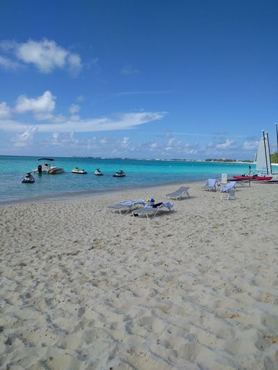 Ocean View Recreation  Swimming Beach Beauty In Nature Carribean Day Grand Cayman Horizon Over Water Nature Ocean Outdoors Scenics Sea Sky Vacations Water