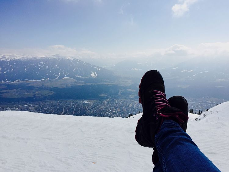 Relaxing Innsbruck Tirol  Nordkette Seegrube Hiking Boots Relaxing Snow Mountain Traveling Travel Photography Travel Austria